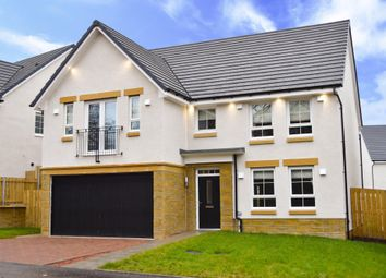 Thumbnail 4 bedroom detached house for sale in Nethermains Avenue, Brookfield, Johnstone