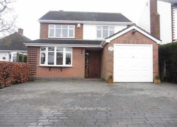 Thumbnail 4 bed detached house for sale in Sketchley Road, Burbage, Hinckley