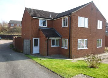 Thumbnail 2 bed flat to rent in Vicarage Gardens, Swadlincote