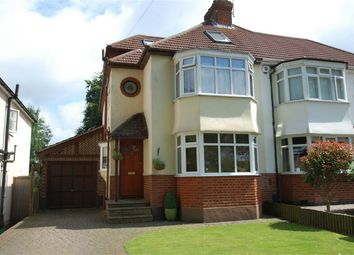 Thumbnail 4 bed semi-detached house for sale in Lime Tree Walk, West Wickham, Kent