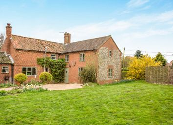 Thumbnail 4 bed detached house for sale in Low Road, North Tuddenham, Dereham, Norfolk
