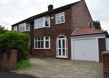 Thumbnail 3 bed semi-detached house to rent in Lorna Grove, Gatley, Cheadle