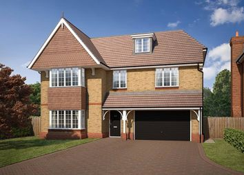 "Thumbnail 6 bed detached house for sale in ""The Warwick"" at Reigate Road, Ewell, Epsom"