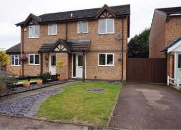Thumbnail 3 bed semi-detached house to rent in Geveze Way, Leicester