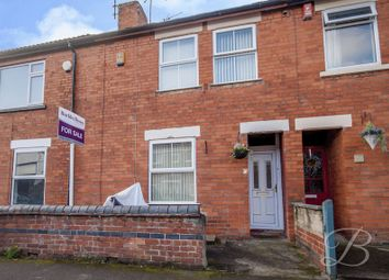 Thumbnail 2 bed terraced house for sale in Stanley Road, Mansfield