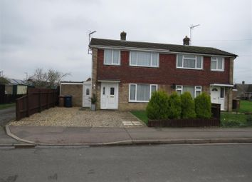 Thumbnail 2 bed semi-detached house to rent in Morton Avenue, March