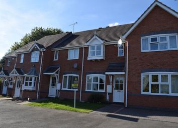 Thumbnail 2 bed town house to rent in Franklin Close, Stapenhill, Burton.