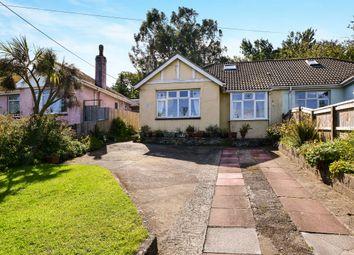 Thumbnail 3 bedroom semi-detached bungalow for sale in Totnes Road, Paignton