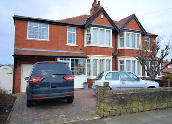 Thumbnail 3 bed semi-detached house for sale in Highfield Road, Blackpool