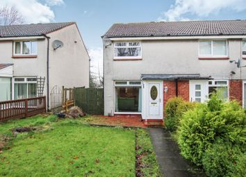 Thumbnail 2 bed end terrace house for sale in Tanzieknowe Road, Glasgow