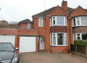 Thumbnail 4 bedroom semi-detached house for sale in Arnold Grove, Shirley, Solihull