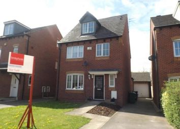 Thumbnail 4 bed detached house for sale in Summercroft Close, Golborne, Warrington, Cheshire