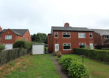 Thumbnail 2 bed semi-detached house to rent in The Common, Dilhorne, Stoke-On-Trent