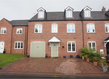 Thumbnail 5 bed town house for sale in Rogerson Road, Fradley, Lichfield