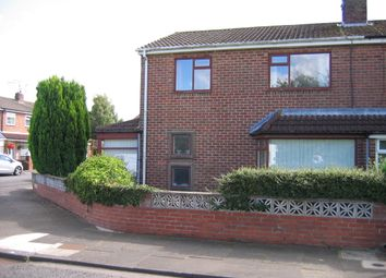 Thumbnail 3 bedroom semi-detached house for sale in Ridley Close, Gosforth