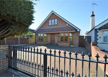Thumbnail 4 bed detached house for sale in Hanging Hill Lane, Brentwood