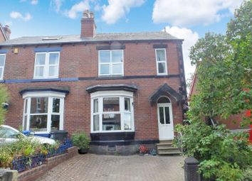 Thumbnail 4 bed semi-detached house for sale in Newlyn Road, Woodseats, Sheffield