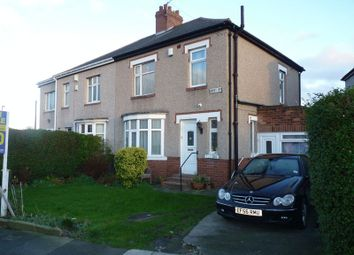 Thumbnail 3 bedroom semi-detached house for sale in Baret Road, Walkergate, Newcastle Upon Tyne