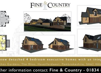 Thumbnail 4 bed detached house for sale in Rhos Gardens, The Rhos, Haverfordwest