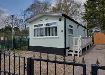 Thumbnail 1 bed mobile/park home for sale in The Saltings, Stafford