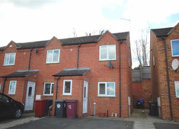 Thumbnail 2 bed town house for sale in Haworth Close, Stretton, Alfreton