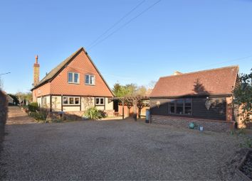 Thumbnail 4 bed detached house for sale in Church Road, Willington, Bedford