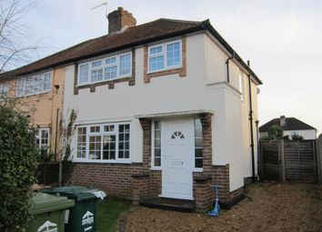 Thumbnail 3 bed semi-detached house for sale in Hazel Grove, Staines