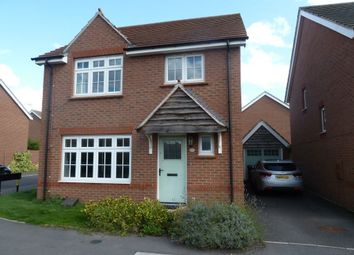 Thumbnail 4 bed detached house to rent in Corrib Road, Nuneaton, Warwickshire