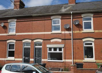 Thumbnail 2 bedroom terraced house for sale in Mostyn Street, Hereford