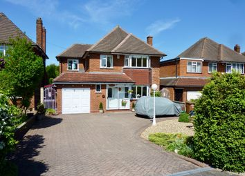 Thumbnail 4 bed detached house for sale in Wood Lane, Streetly, Sutton Coldfield