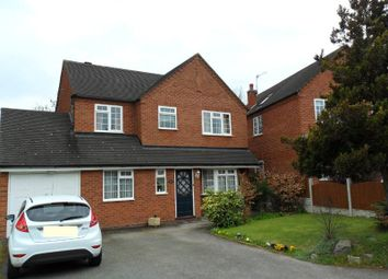 Thumbnail 4 bed detached house to rent in St. Josephs Close, Droitwich