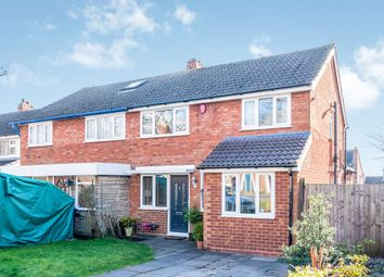 Thumbnail 3 bed semi-detached house for sale in Walsall Road, Lichfield