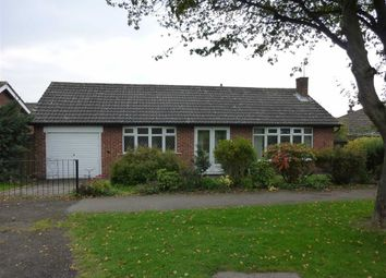 Thumbnail 2 bed detached bungalow to rent in Grace Road, Sapcote, Leicester