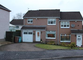 Thumbnail 3 bed semi-detached house for sale in Craigelvan Avenue, Condorrat, Cumbernauld, North Lanarkshire