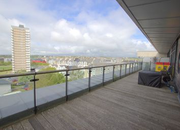 Thumbnail 3 bed flat for sale in Azure West, 1 Grand Hotel Road, The Hoe, Plymouth. Devon