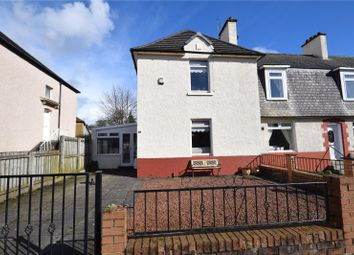 Thumbnail 2 bedroom end terrace house for sale in Rotherwood Avenue, Knightswood, Glasgow