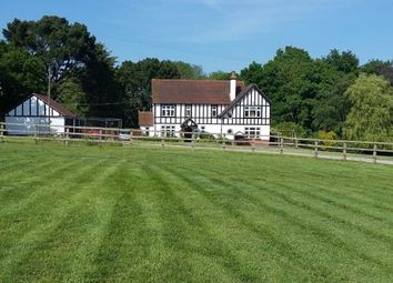 Thumbnail 4 bed equestrian property for sale in Burridge, Southampton, Hampshire