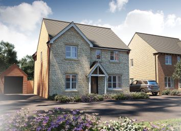 "Thumbnail 4 bed detached house for sale in ""The Berrington"" at Witney Road, Kingston Bagpuize, Abingdon"