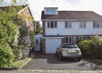 Thumbnail 4 bed semi-detached house to rent in Alcester Road, Lickey End, Bromsgrove