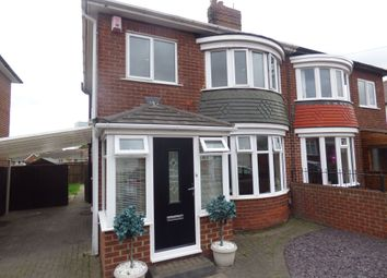 Thumbnail 3 bedroom semi-detached house for sale in Clarendon Road, Thornaby, Stockton-On-Tees