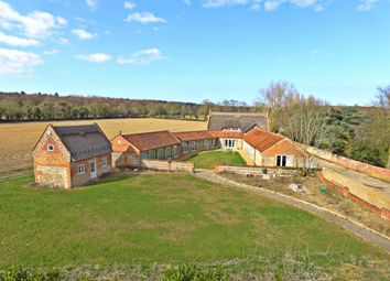 Thumbnail 6 bed barn conversion for sale in Thatched Cottage Road, Witton, North Walsham