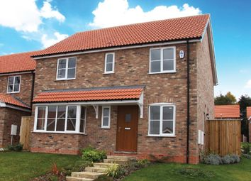 Thumbnail 4 bedroom detached house for sale in Eastfield Road, Louth
