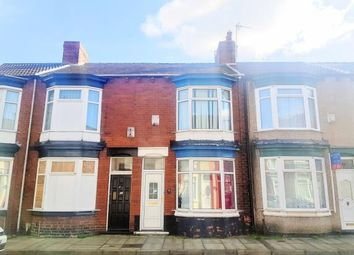 Thumbnail 2 bed terraced house for sale in Berner Street, Middlesbrough