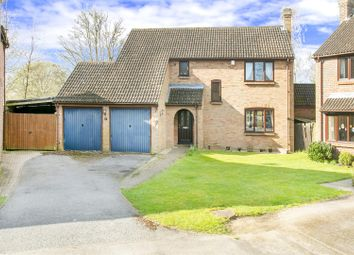 Thumbnail 4 bed detached house for sale in Aviemore Drive, Oakley, Basingstoke
