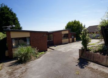 Thumbnail 4 bed detached bungalow for sale in Victoria Road, Brynteg, Wrexham