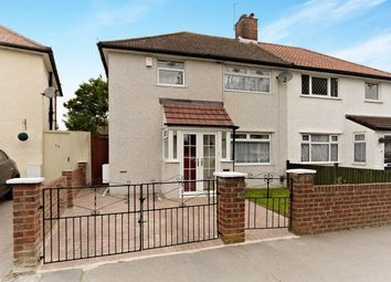 Thumbnail 2 bed semi-detached house for sale in Layton Crescent, Croydon, .