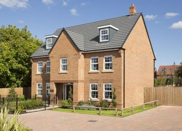 "Thumbnail 5 bed detached house for sale in ""Lichfield"" at Fen Street, Brooklands, Milton Keynes"