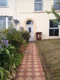 Thumbnail 3 bed terraced house to rent in Embankment Road, Plymouth