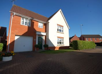 Thumbnail 4 bed detached house for sale in Charlock Road, Thetford