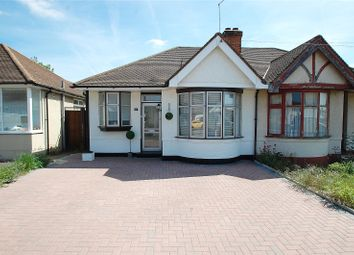 Thumbnail 1 bed semi-detached bungalow for sale in Kempton Avenue, Hornchurch